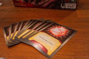 Keyforge, power cards