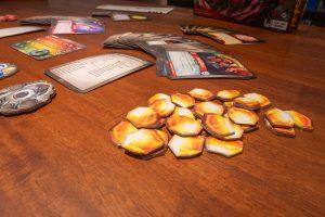 Keyforge, tokens, amber, æmber